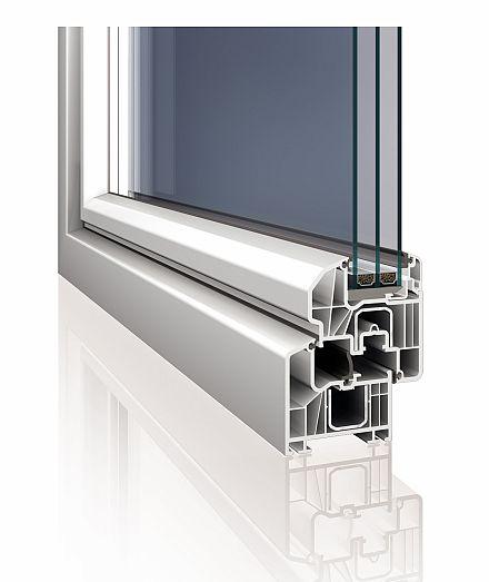 Plastové okno INCON Luxury
